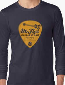McFly's Repairs - Orange Long Sleeve T-Shirt