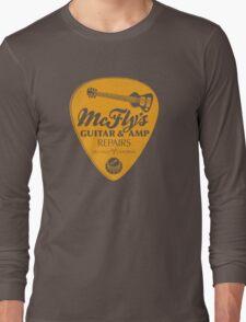 McFly's Repairs - Orange Long Sleeve T-Shirt