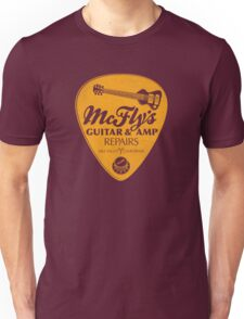 McFly's Repairs - Orange Unisex T-Shirt