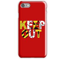 Keep Out iPhone Case/Skin