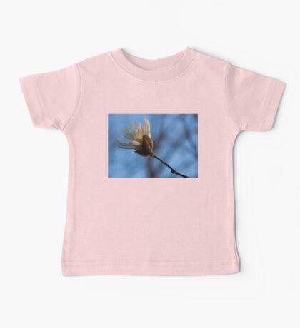 Blue Sky Magnolia Blossom - Dreaming of Spring Baby Tee