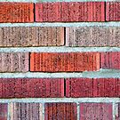 Red Brick Wall by Henrik Lehnerer