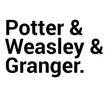Harry Potter Character Names by onezenmom