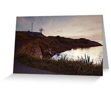 Evening at Trawenagh Bay Greeting Card