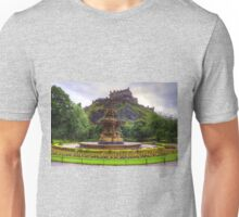 Fountain and Castle Unisex T-Shirt
