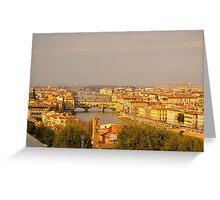 Firenze Greeting Card
