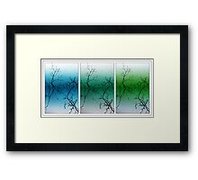 Coloured Reflections Framed Print