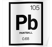 Periodic Paintball Poster