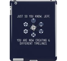 Community: Different Timelines iPad Case/Skin