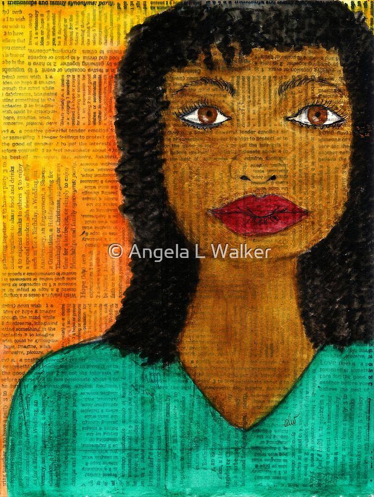 A  Woman Defined by © Angela L Walker