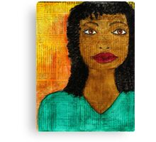 A  Woman Defined Canvas Print
