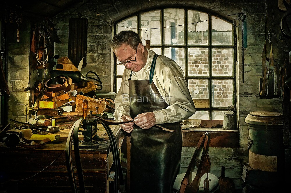The Leatherworker by Tarrby