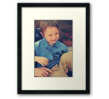Giggles Framed Print