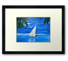 Come Sail with me  Framed Print