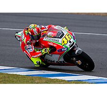 Valentino Rossi in Jerez 2012 Photographic Print