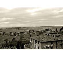 A House in Tuscany Photographic Print