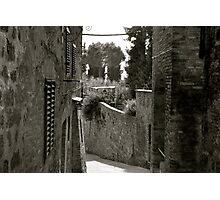 A Tuscan Road Photographic Print