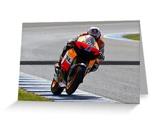 casey stoner in Jerez 2012 Greeting Card
