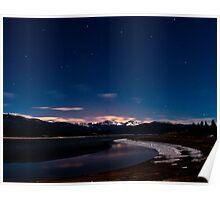 Lake Grandby at Night Poster