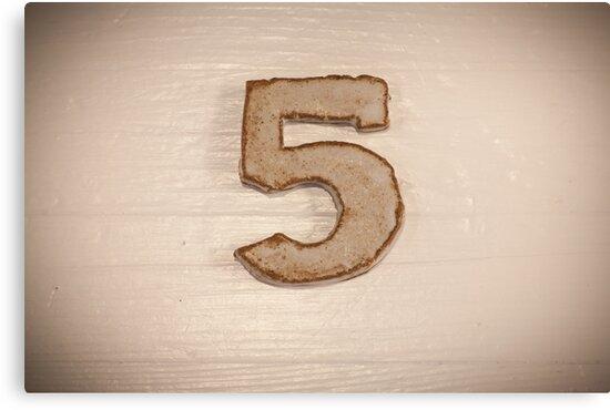 Number V by MikkoEevert
