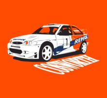 Ford Escort Cosworth WRC by velocitygallery