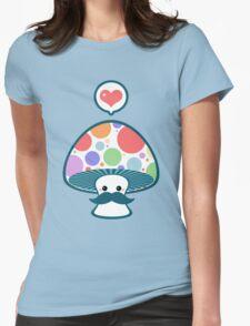 Cute Mustache Mushroom T-Shirt