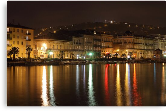 Night at Sete. by Paul Pasco