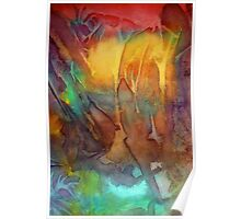 Abstract Reflection Poster