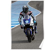 Ben Spies in Jerez 2012 Poster