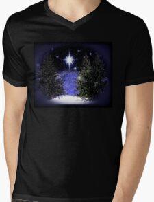 The Midnight Hour Mens V-Neck T-Shirt