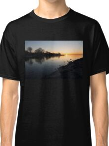 Greeting the New Day on Lake Ontario in Toronto, Canada Classic T-Shirt