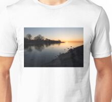 Greeting the New Day on Lake Ontario in Toronto, Canada Unisex T-Shirt