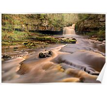 Cauldron Falls, West Burton Poster