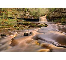 Cauldron Falls, West Burton Photographic Print