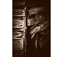 broadside of a barn Photographic Print