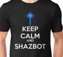 Keep Calm and Shazbot - Diamond Sword Unisex T-Shirt