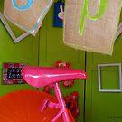 On the hot PINK seat! by © Joe  Beasley IPA