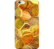 golden honeycomb abstract art iPhone Case/Skin