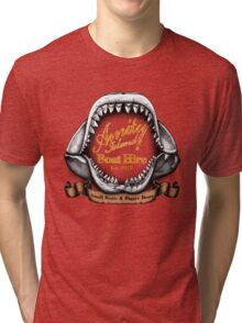 Amity Island Boat Hire Tri-blend T-Shirt