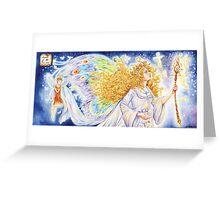 Titania, Queen of the Fairies Greeting Card