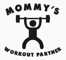 Mommy's Workout Partner One Piece - Long Sleeve