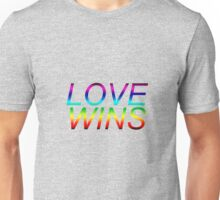 #LoveWins LGBTQ+ products Unisex T-Shirt