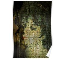 Old Canvas Portrait Poster