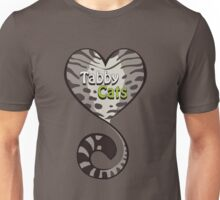 Tabby Cat Love Unisex T-Shirt