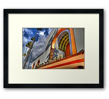 The Marquee Framed Print