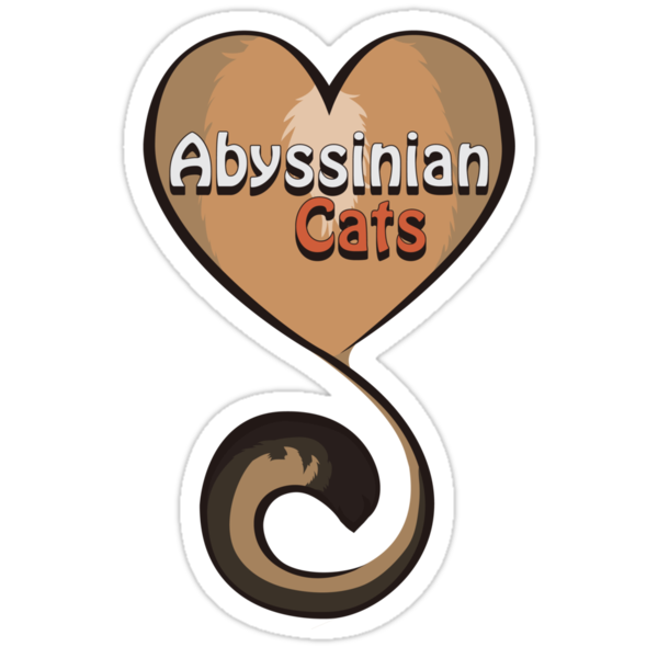 Abyssinian Cat Love by GoblinWorks