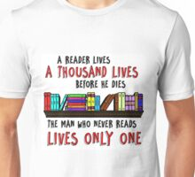 Reading Quote Unisex T-Shirt