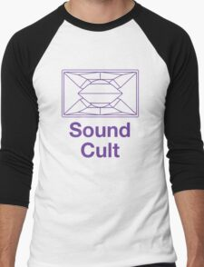 Sound Cult, Funktion One (Purple) Men's Baseball ¾ T-Shirt