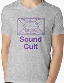 Sound Cult, Funktion One (Purple) Mens V-Neck T-Shirt