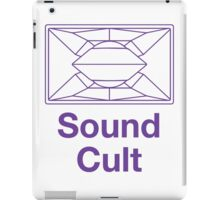 Sound Cult, Funktion One (Purple) iPad Case/Skin